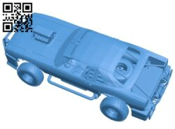 Fight car B007767 file stl free download 3D Model for CNC and 3d printer