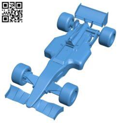 Formula 1 car B007967 file stl free download 3D Model for CNC and 3d printer