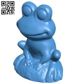 Frog B007774 file stl free download 3D Model for CNC and 3d printer
