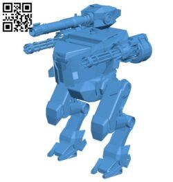 Gepard robot B007781 file stl free download 3D Model for CNC and 3d printer