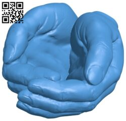 Hands B007787 file stl free download 3D Model for CNC and 3d printer