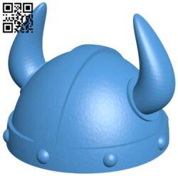 Helmet viking B007791 file stl free download 3D Model for CNC and 3d printer