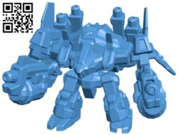 Heroes of the storm Odin B007862 file stl free download 3D Model for CNC and 3d printer