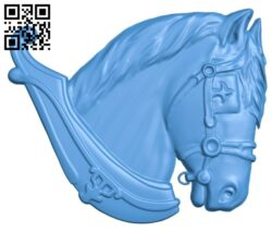 Horse head A005013 download free stl files 3d model for CNC wood carving