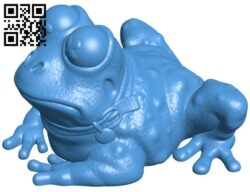 Hypnotoad – toad B007794 file stl free download 3D Model for CNC and 3d printer