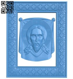 Icon Jesus Christ A005072 download free stl files 3d model for CNC wood carving