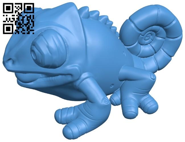 Klint chameleon B008006 file stl free download 3D Model for CNC and 3d printer