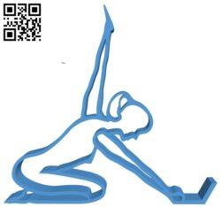 Kneeling stand B007736 file stl free download 3D Model for CNC and 3d printer