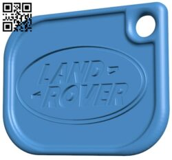 Land rover – card keychain B007817 file stl free download 3D Model for CNC and 3d printer