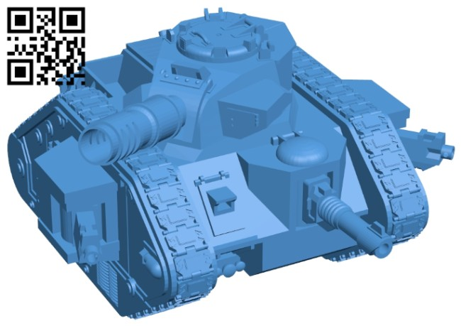 Leman russ tank B007928 file stl free download 3D Model for CNC and 3d printer