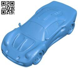 Lotus elise exige car B007949 file stl free download 3D Model for CNC and 3d printer