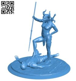 Martial arts fighter B007766 file stl free download 3D Model for CNC and 3d printer