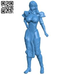 Miss Diane B007643 file stl free download 3D Model for CNC and 3d printer