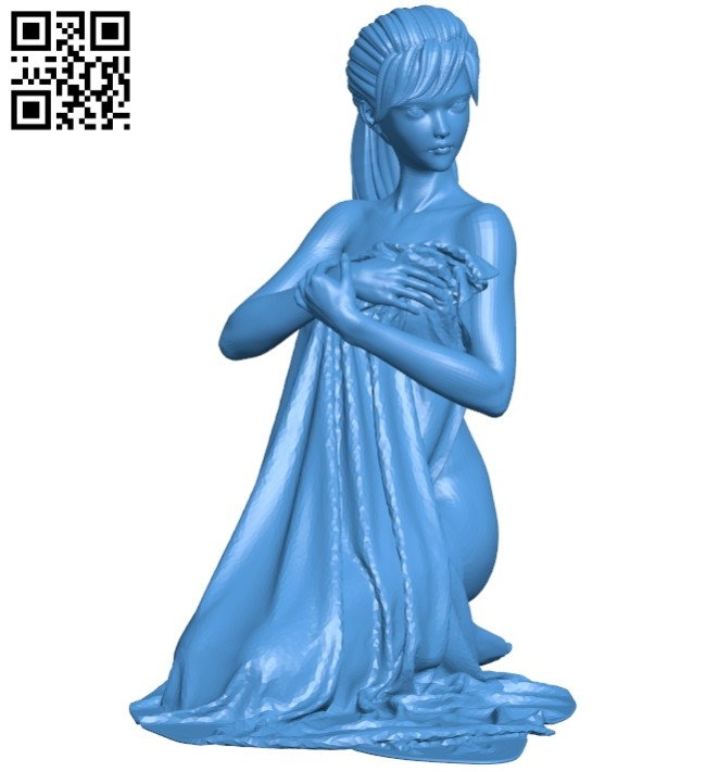 Miss Reivo After bath B008033 file stl free download 3D Model for CNC and 3d printer