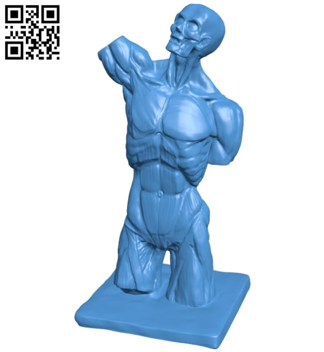 Munhensky tors - body man B007954 file stl free download 3D Model for CNC and 3d printer
