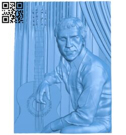 Musician man A005172 download free stl files 3d model for CNC wood carving