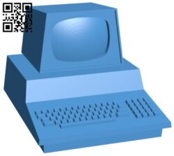 Old computer B007730 file stl free download 3D Model for CNC and 3d printer