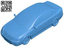 Opel Vectra car B008013 file stl free download 3D Model for CNC and 3d printer