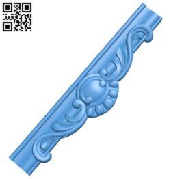 Pattern decor design A004998 download free stl files 3d model for CNC wood carving