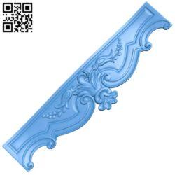 Pattern decor design A004999 download free stl files 3d model for CNC wood carving