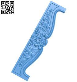 Pattern decor design A005005 download free stl files 3d model for CNC wood carving
