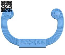 Pattern decor design A005007 download free stl files 3d model for CNC wood carving