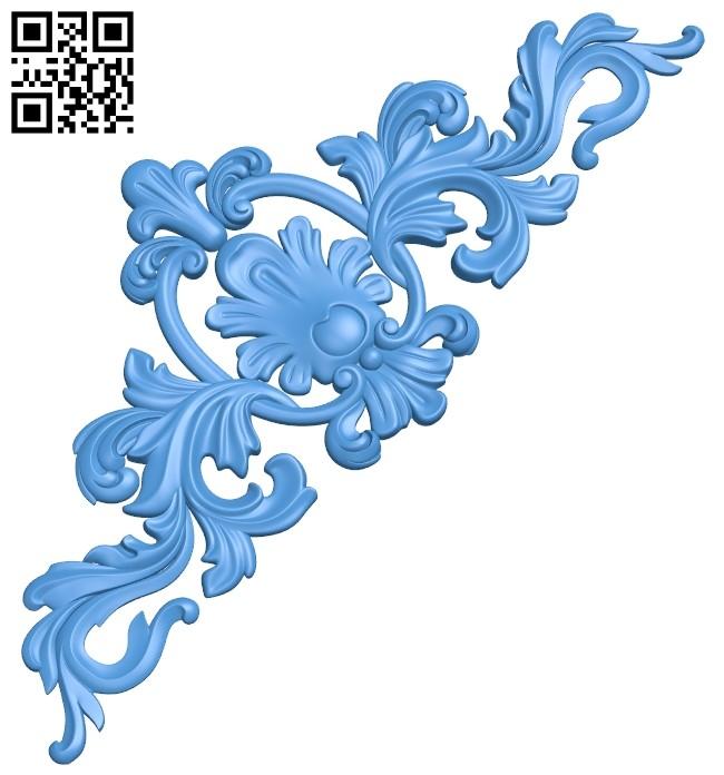 Pattern decor design A005165 download free stl files 3d model for CNC wood carving