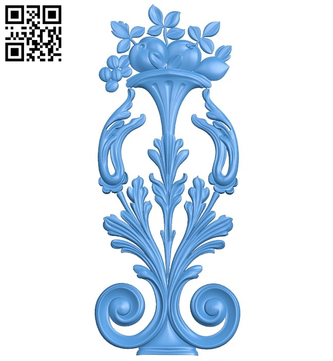Pattern decor design A005166 download free stl files 3d model for CNC wood carving