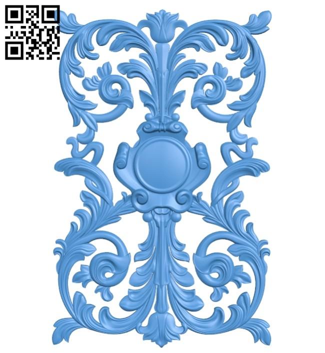 Pattern decor design A005167 download free stl files 3d model for CNC wood carving