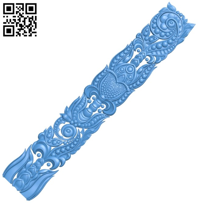 Pattern decor design A005170 download free stl files 3d model for CNC wood carving