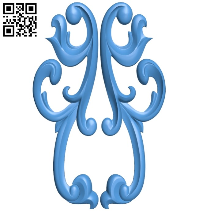 Pattern decor design A005181 download free stl files 3d model for CNC wood carving