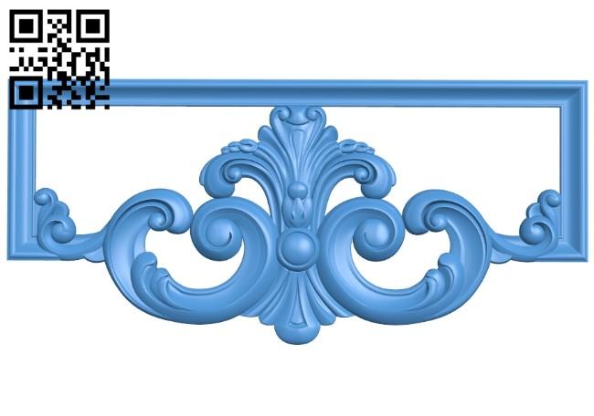Pattern decor design A005190 download free stl files 3d model for CNC wood carving