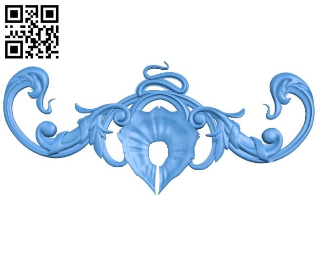 Pattern decor design A005191 download free stl files 3d model for CNC wood carving