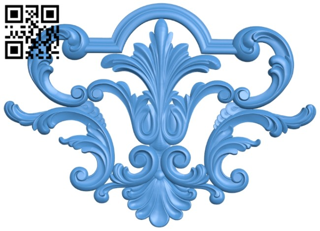Pattern decor design A005192 download free stl files 3d model for CNC wood carving