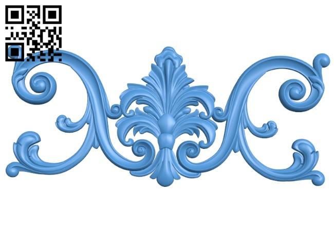 Pattern decor design A005195 download free stl files 3d model for CNC wood carving