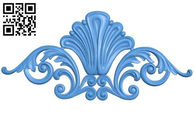 Pattern decor design A005207 download free stl files 3d model for CNC wood carving