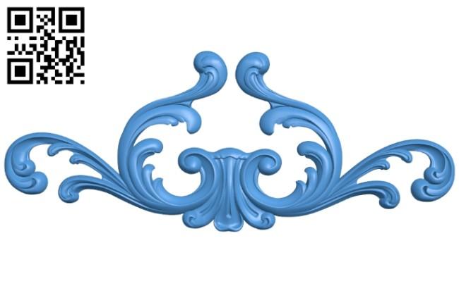 Pattern decor design A005216 download free stl files 3d model for CNC wood carving
