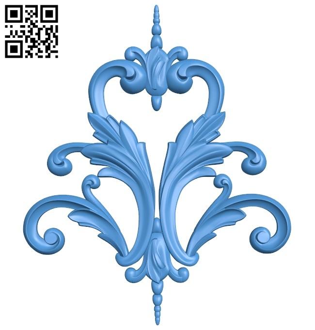 Pattern decor design A005217 download free stl files 3d model for CNC wood carving