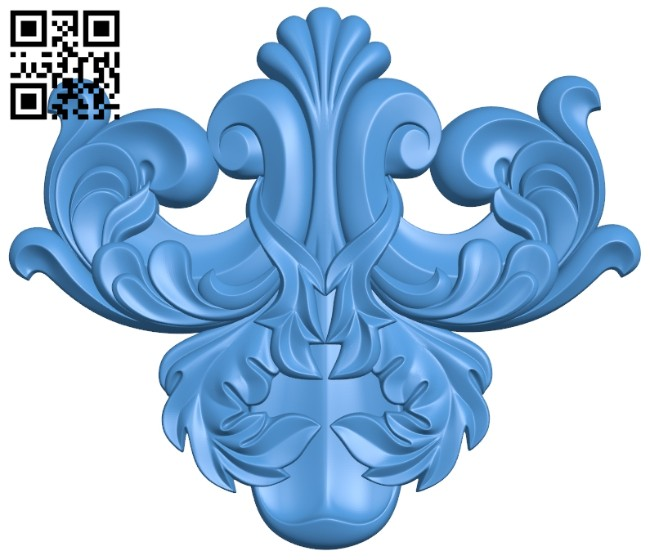 Pattern decor design A005225 download free stl files 3d model for CNC wood carving