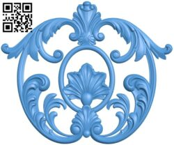 Pattern decor design A005226 download free stl files 3d model for CNC wood carving