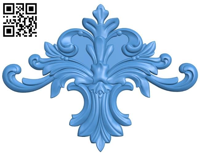 Pattern decor design A005227 download free stl files 3d model for CNC wood carving