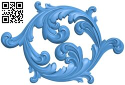 Pattern decor design A005235 download free stl files 3d model for CNC wood carving