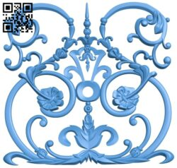 Pattern decor design A005236 download free stl files 3d model for CNC wood carving