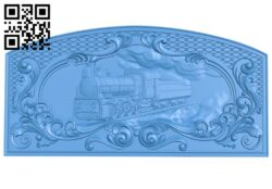 Pattern of train shaped doors A005109 download free stl files 3d model for CNC wood carving