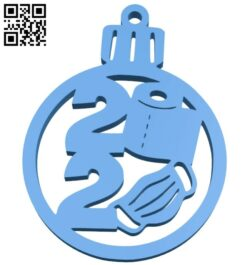 Pendant 2020 B008029 file stl free download 3D Model for CNC and 3d printer