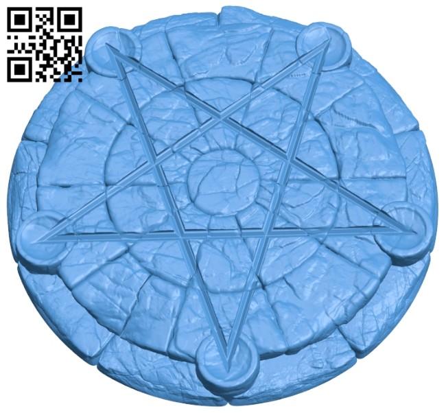 Pentagram B007926 file stl free download 3D Model for CNC and 3d printer