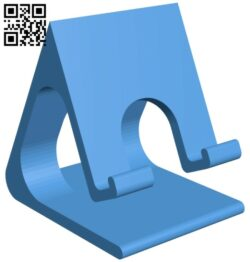 Phone Stand B007675 file stl free download 3D Model for CNC and 3d printer