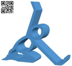 Phone stand B007680 file stl free download 3D Model for CNC and 3d printer
