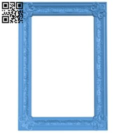Picture frame or mirror A005031 download free stl files 3d model for CNC wood carving