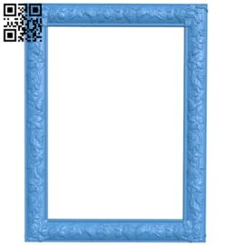 Picture frame or mirror A005032 download free stl files 3d model for CNC wood carving